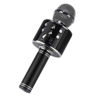 Harga WSTER WS858 Wireless Microphone with Mic Speaker Condenser Mini Karaoke Player with 3.5mm Jack for IOS/Android (FM Radio/MMC/USB/Bluetooth) Ready Stock (Fast Delivery!!!)!