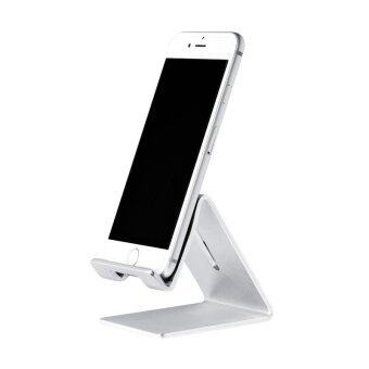 Harga Hoco P1 Aluminum Stand Tabletop Holder for Smartphone Tablet (Silver)