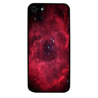Harga Hipster Nebula Pattern Phone Case For iPhone 5/5S (Black)
