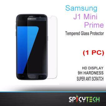 Harga SpicyTech Premium 9H 0.3mm 2.5d Tempered Glass Screen Protector For Samsung Galaxy J1 Mini Prime