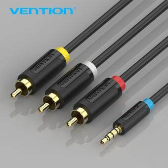 Harga Vention BCBBG 1.5M Cable 3.5mm To 3 RCA Audio Cable Adapter Male To Male Jack for Android TV Box Speaker Ipod