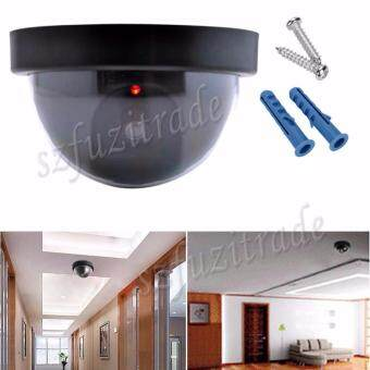 Harga Emulational Fake Security IP CCTV DVR Camera Home Office Guard With Red Blinking