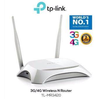 Harga TP-LINK TL-MR3420 3G/4G Broadband 300Mbps LTE Wireless N Router