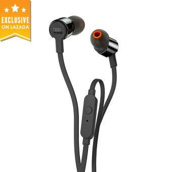 Harga JBL T210 In-Ear Headphone - Black