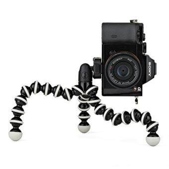 Harga GPL/ JOBY GorillaPod Hybrid Tripod for Mirrorless and 360 Cameras - A Flexible, Portable and Lightweight Tripod With a Ball Head and Bubble Level/ship from USA