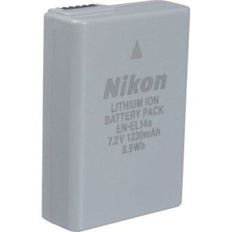 Harga (Original) Nikon EN-EL14a Rechargeable Battery For Nikon D3200 D3300 D5200 D5300 and D5500