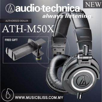 Harga Audio-Technica M50x Headphone with Desk Holder ( ATH-M50X )