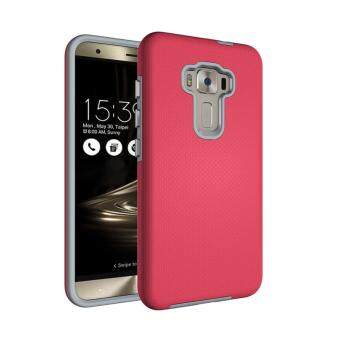 Harga For Asus ZenFone Selfie ZD551KL Ultra Slim Anti-Slip Shockproof Phone Back Case Cover (Hot Pink)
