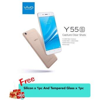 Harga (Official Vivo Malaysia) Vivo Y55S (GOLD) 13MP + Capture Clear Shot