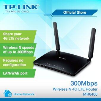 Harga TP-LINK, 300Mbps Wireless N 4G LTE Router - TL-MR6400
