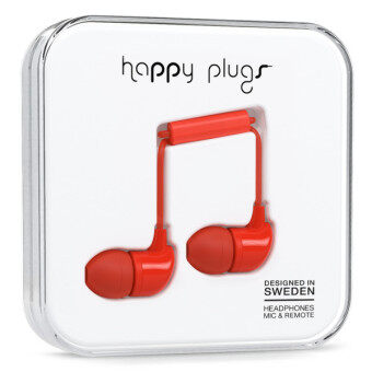 Harga Happy Plugs In-Ear (Red)