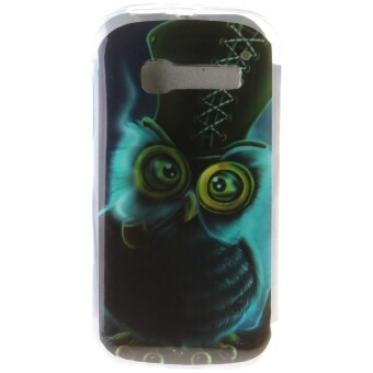 Harga Ultra Thin Soft TPU Phone Back Case Cover For Alcatel One Touch Pop C5 (Owl)