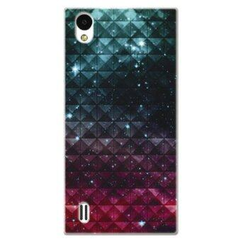 Harga PC Plastic (Red/Blue) nebula Case for vivo Y15 (Red/Blue)