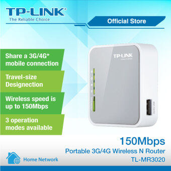 Harga TP-LINK 3G/4G Portable Wireless N Broadband Router MR3020 WiFi