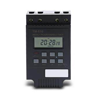 Harga TM616 AC 220V Digital LCD Power Programmable Timer Time Switch Relay 30A Timer