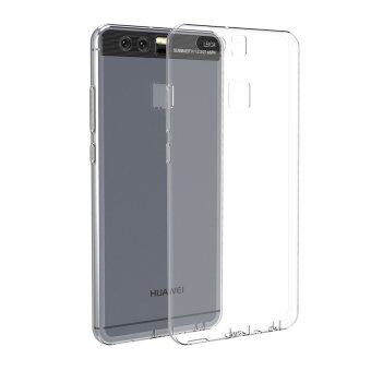 Harga CHOETECH Soft TPU Phone Case Crystal Clear Transparent Slim Anti Slip Back Protector Cover for Huawei P9