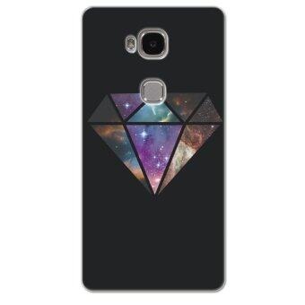 Harga PC Plastic Diamond nebula Case for Huawei Honor 5X (Black)