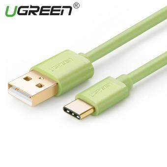Harga UGREEN USB to Type C Data Sync Charger Cable (0.5m) Green - Intl