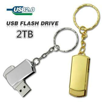 Harga Hot sale new usb flash drive 2TB pen drive pendrive waterproof metal silver u disk memory disk usb 2.0