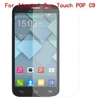 Harga 9H Tempered Steel Glass Ultra-thin HD Scratch-proof Film Screen Protective For Alcatel One Touch POP C9