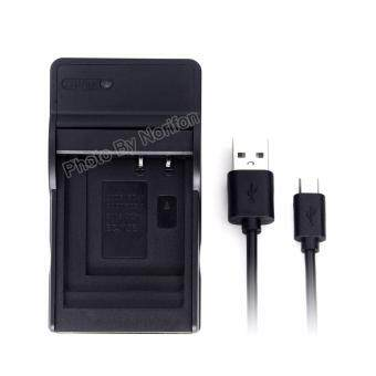 Harga CGA-S007 Ultra Slim USB Charger for Panasonic DMC-TZ11 DMC-TZ15 DMC-TZ4 DMC-TZ5 Lumix DMC-TZ1 Lumix DMC-TZ2 Lumix DMC-TZ3 Lumix DMC-TZ4K Lumix DMC-TZ4S Lumix DMC-TZ50 and More