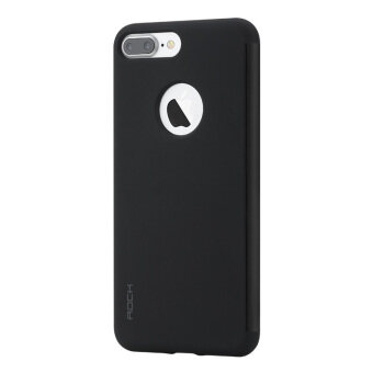 Harga ROCK Dr. V Series Touchable Translucent Window TPU PC Hybrid Case for iPhone 7 Plus - Black