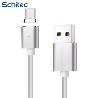 Harga 2017 New 2.4A Adsorption Magnetic TYPE C USB Data Cable, Mobile Phone fast Data Charging Magnet Charger TPE Cable for hiawei mate 9