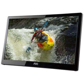 Harga AOC e1659Fwux- Pro 16-Inch Class, Full HD 1920x1080 Res, 300 cd/m2 Brightness, USB 3.0-Powered, Portable LED Monitor