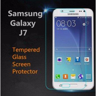 Harga Samsung Galaxy J7 Tempered Glass Screen Protector 9H Round Edges