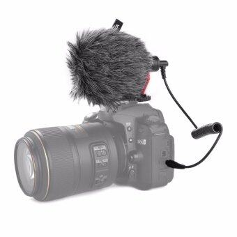 Harga BOYA BY-MM1 Stereo Audio Recording MIC Microphone for Living Camera Camcorder DSLR DV LF783