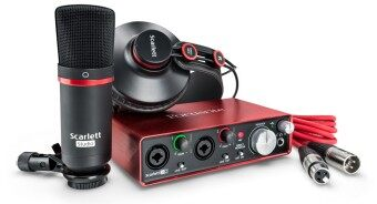 Harga Focusrite Scarlett 2i2 Studio Pack (2nd Gen)