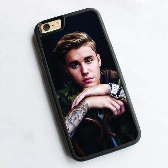 Harga phone case TPU cover for Apple iPhone 6 / 6s Justin Bieber purpose