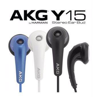 Harga AKG Y15 Lightweight In Ear Stereo Headphones With Volume Control By JBL Harman