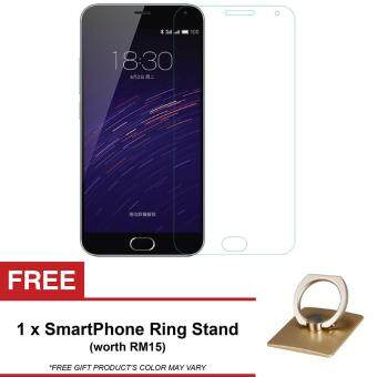 Harga [HD] MeiZu MX4 Pro Tempered Glass Screen Protector + FREE Ring Phone Stand