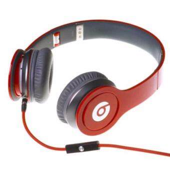 Harga NEW Beats Solo On-Ear Wired Headphone (Red)