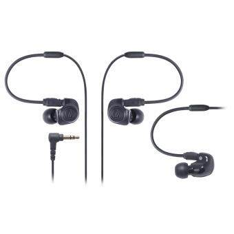 Harga Audio-technica IM Series canal type monitor earphone dual symphonic driver black ATH-IM50 BK