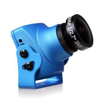 Harga Foxeer Monster V2 1200TVL 1/3 CMOS 16:9 PAL/NTSC Switchable w/ OSD and Audio FPV Camera for Racing Drone - Blue