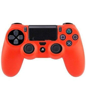 Harga Silicone Skin Case Cover for Controller Sony PlayStation 4 (Red)