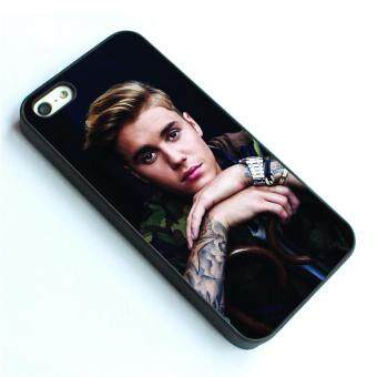 Harga phone case TPU cover for Apple iPhone 4 / 4s Justin Bieber purpose