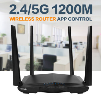 Harga Tenda AC6 Wifi Router English Firmware Dual Band 1200M 11AC Wireless Wifi Repeater 2.5Ghz/5.0Ghz Remote Control APP