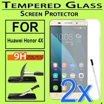 Harga 2x Tempered Glass Screen Protector For Huawei Honor 4X