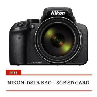 Harga GEON Nikon P900 Digital Camera + 8GB + Bag Black (1 Year Nikon Malaysia Warranty)