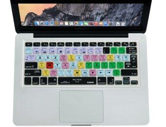 Harga XSKN Final Cut Pro X 10 Shortcut Design Silicone Keyboard Skin Cover for Macbook 13 15 17 inch (US & EU version)