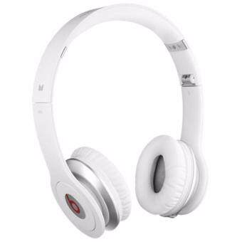 Harga NEW Beats Solo On-Ear Wired Headphone (White)