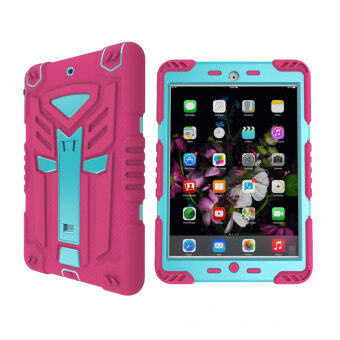 Harga New 2017 iPad 2/3/4 Case, Welink Transformer Hybrid Protective Case Cover Full Body Shockproof Case With Kickstand for Apple iPad 2 iPad 3 iPad 4 (Pink)