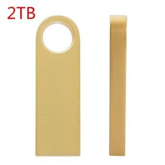 Harga New pendrive 2TB pen drive usb flash drive mini key Metal Water Proof Quick Stick USB Flash Drive