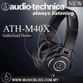 Harga Audio-Technica M40x Studio Monitor Headphone ( ATH-M40X )