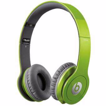 Harga NEW Beats Solo On-Ear Wired Headphone (Green)