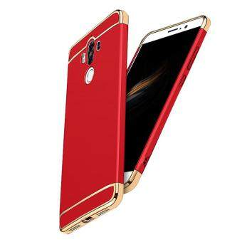 Harga Ultra Thin 3 in 1 Combo Matte Case Hard Cover for Huawei Mate 9 (Red)
