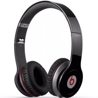 Harga NEW Beats Solo On-Ear WIred Headphone (Black)